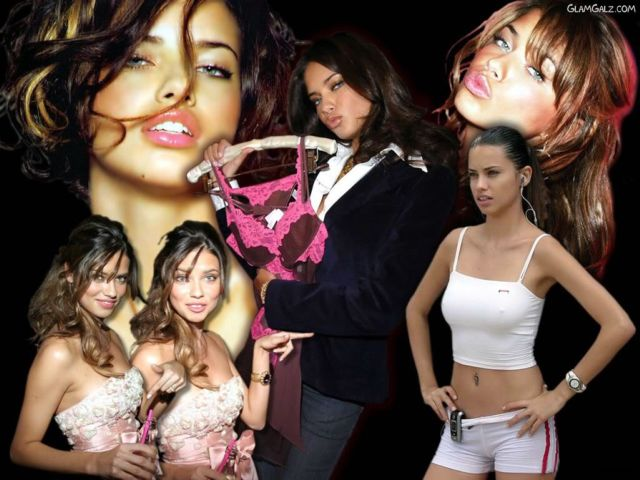 Click to Enlarge - Adrianna Lima Hot Wallpapers