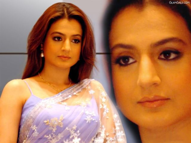 Click to Enlarge - Beautiful Amisha Patel Wallpapers