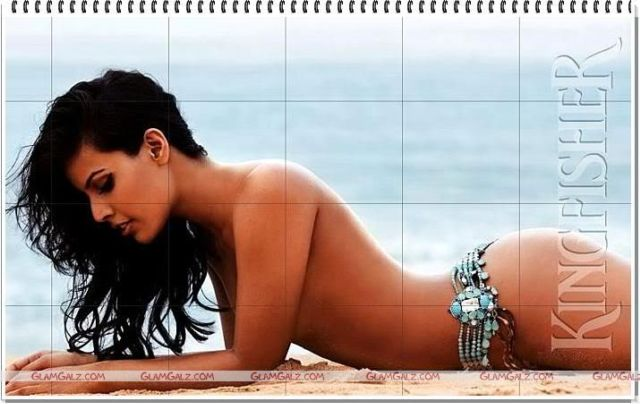 Click to Enlarge - Kingfisher Swimsuit Special Calender 2008