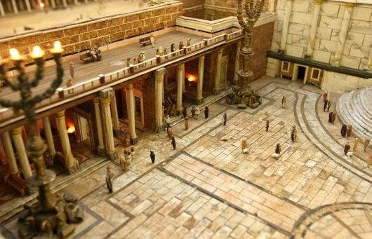 Farmer Builds Model of Biblical Temple