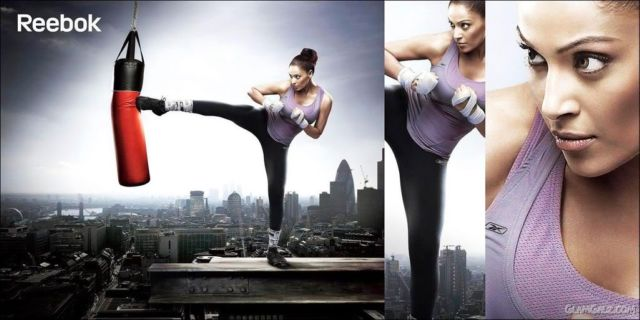 Click to Enlarge - Bipasha for Reebok