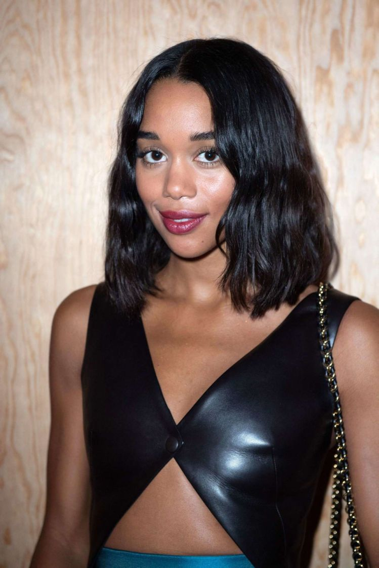 Laura Harrier At The Louis Vuitton Fashion Show In Paris