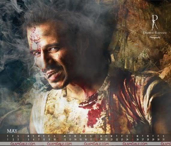 Dabboo 2008 Bollywood Calendar