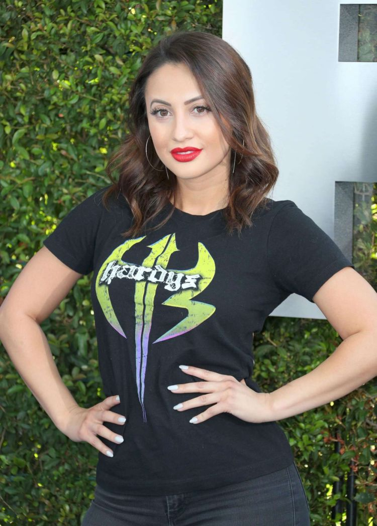 Francia Raisa At The 20th Anniversary Celebration Of WWE Friday Night SmackDown