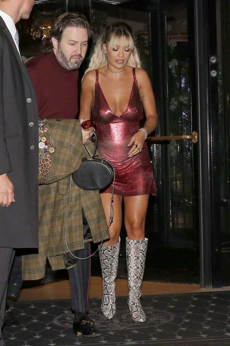 Rita Ora Out And About Candids In Paris