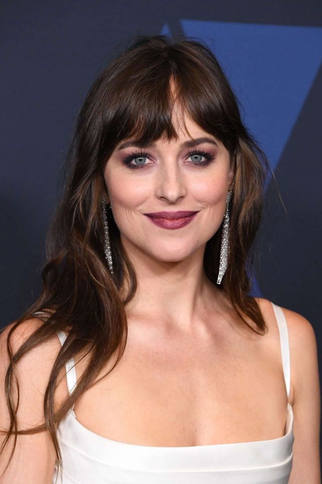 Gorgeous Dakota Johnson Attends 11th Annual Governors Awards In Hollywood