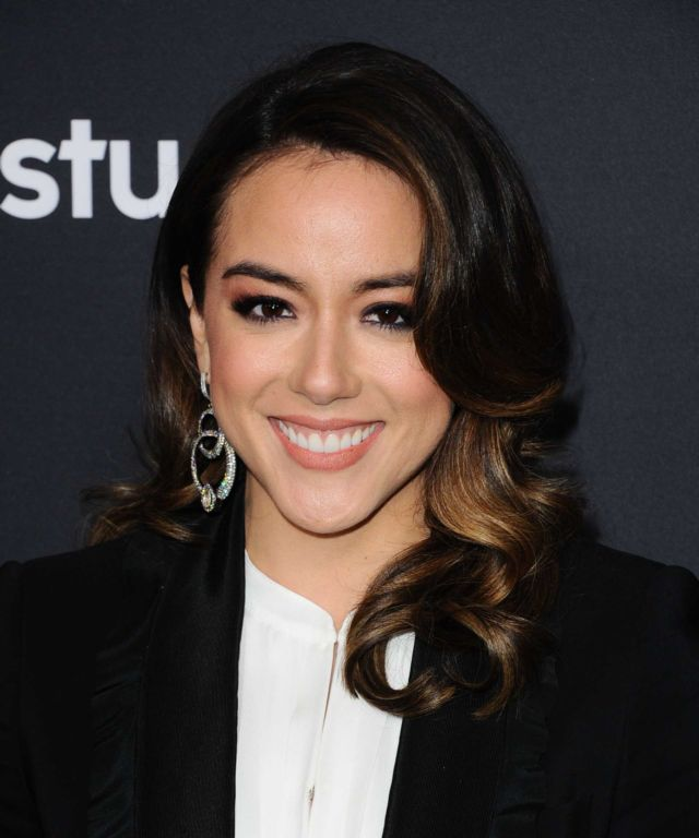 Gorgeous Chloe Bennet At Marvel's Agents Of SHIELD's 100th Episode Celebration