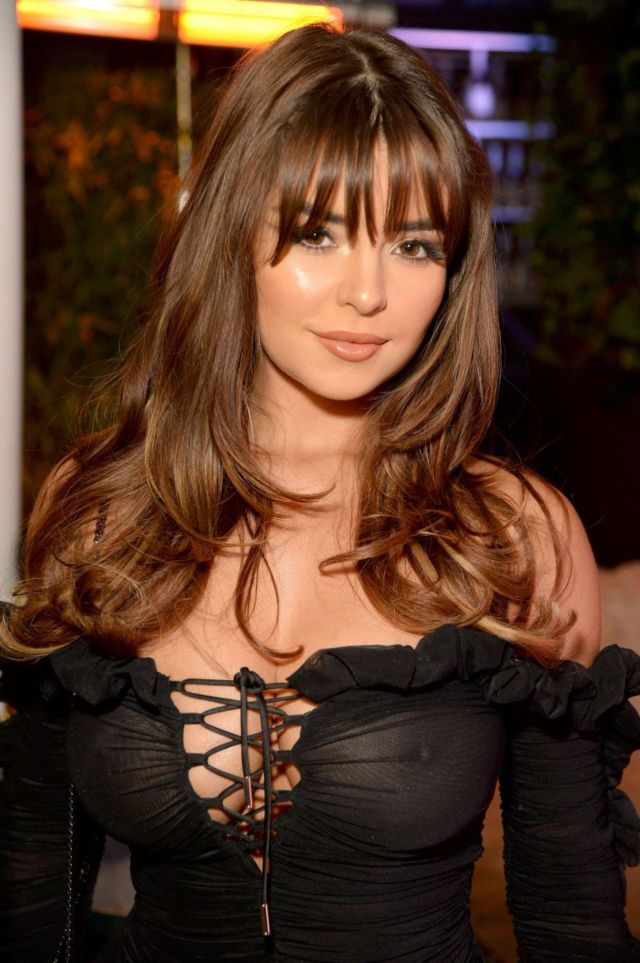 Demi Rose Mawby In Black At Skinny Tan: Choc Range Launch Party