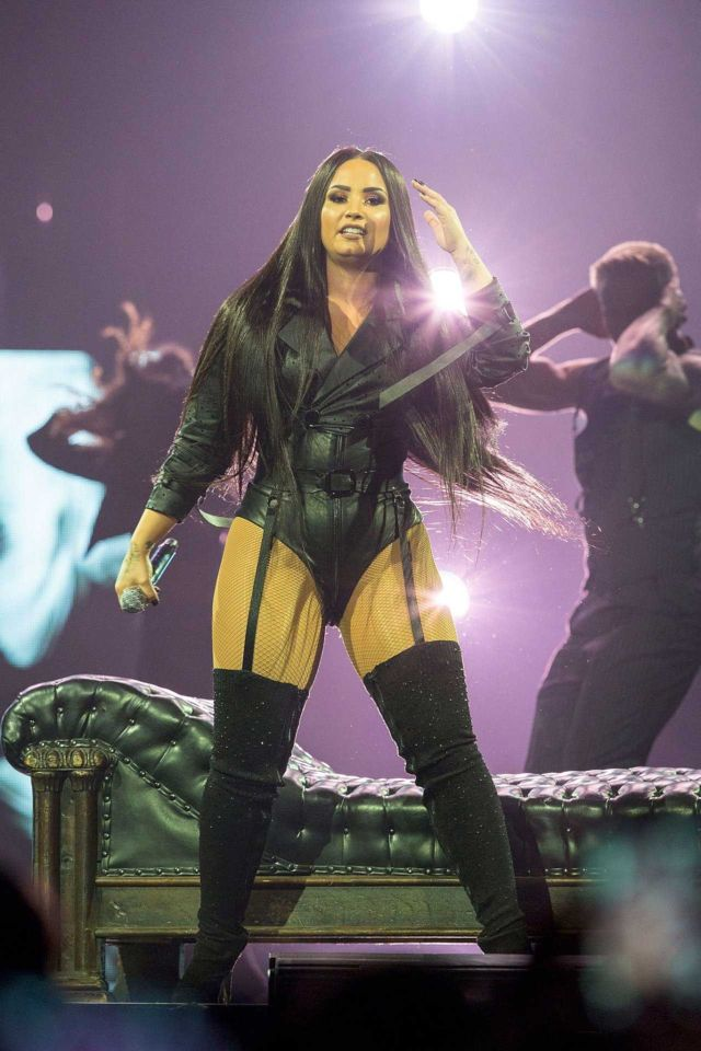 Demi Lovato On A Rocking 'Tell Me You Love Me' Tour