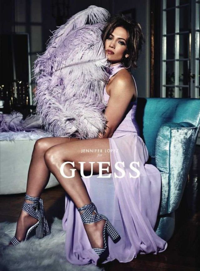 Jennifer Lopez Shoots For Guess Campaign 2018